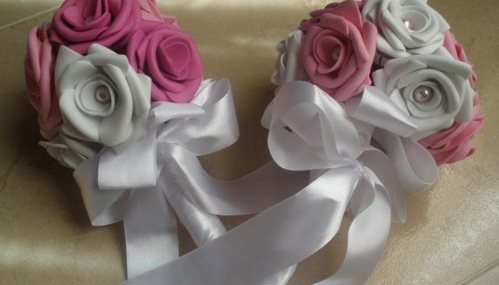 ramo rosas casero bodas low cost
